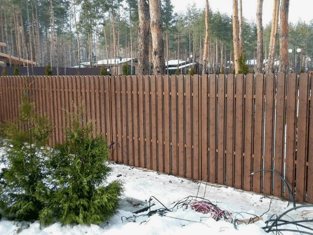 zabor-s-teksturoy-derevo [object object] - 12 - Навіщо  ставлять паркани? Психологія огорожі