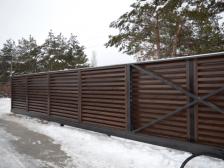 заполнение ворот и калиток - 13 224x168 - Новый взгляд на заполнение ворот и калиток