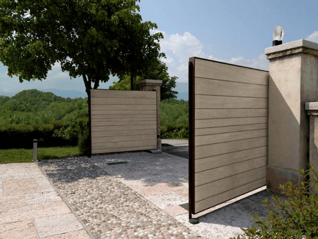vorota-otkatnue ворота - 3 1 - Распашные или откатные ворота? Специфика выбора