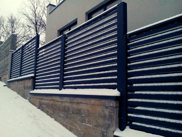 Zabor-na-sklone забор -  D1 81 D0 BA D0 BB D0 BE D0 BD 1 1 - Забор на склоне: как укрепить участок с помощью ограждения