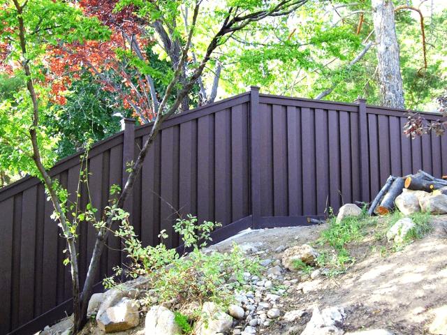 Zabor-na-sklone забор -  D1 81 D0 BA D0 BB D0 BE D0 BD 4 1 - Забор на склоне: как укрепить участок с помощью ограждения