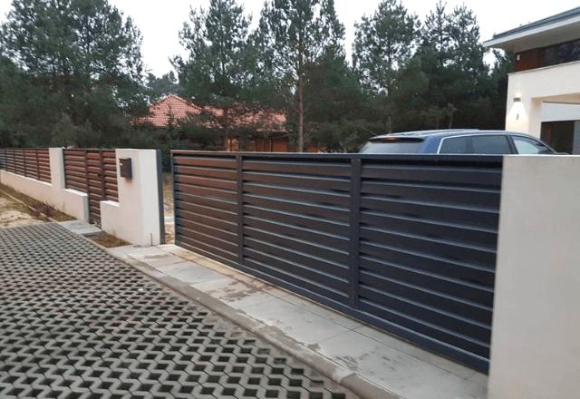 vidu-zaboa-zhaluzi забор - 3 1 - Виды заборов-жалюзи: важные особенности разных конструкций