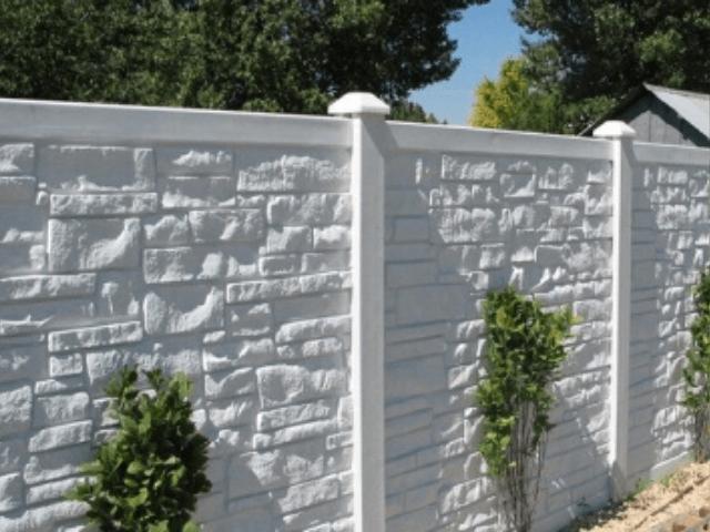 Забор из бетона виды передвижные заводы по производству бетона